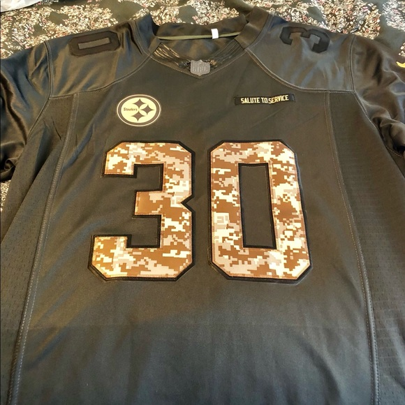 new product be6ed 36012 Authentic Pittsburgh Steelers Jersey #30 Conner NWT